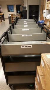 The Fleet has arrived!  They are brought to us from the Wells Library.