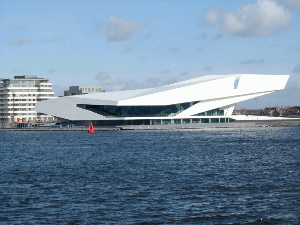 The EYE New Filmmuseum in Amsterdam