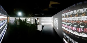 Interactive exhibit at the EYE Film Museum