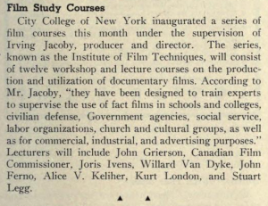 From The Educational Screen, February, 1942 [http://archive.org/stream/educationalscree21chicrich#page/78/mode/2up]