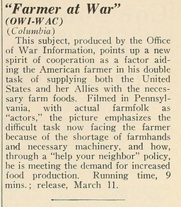 Motion Picture Daily, March 10, 1943