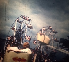 "You'll feel you're on flying on a carnival ride in ""Your Indiana State Fair"" (1947)"