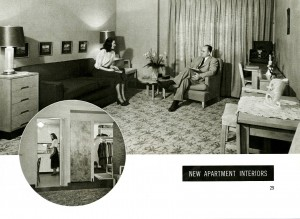"""At Home at Indiana"" brochure, ca. 1949"