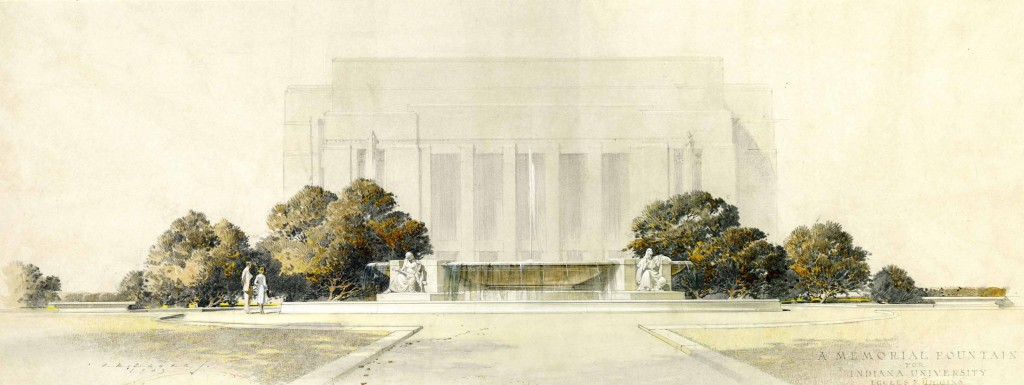 Architectural proposal, Eggers and Higgins, 1943