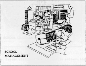 Computer technology in the early 1990s.