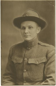 Horace Goff in 1918.