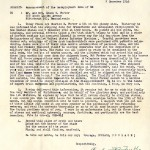 Imitating a typical letter home to the families of ill soldiers, young Forker comically writes to his parents of the unfortunate news of his cancelled trip home for Christmas and his seemingly unstable state of mind brought on by such news.