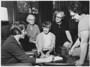 The 1969 Girl Friday Steering Committee