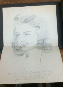 Drawing of Dolores Whitney