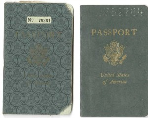 Passports of Alma Eikerman