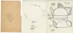 Sketches from Alma's papers