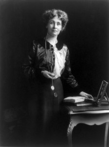 Emmeline Pankhurst, ca. 1913 - United States Library of Congress's Prints and Photographs division under the digital ID cph.3b38130 (Public Domain)