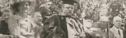 Theodore Roosevelt at 1918 IU Spring Commencement