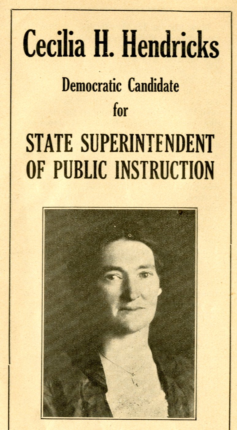 CHH brochure for Wyoming State Superintendent of Public Instruction, 1926