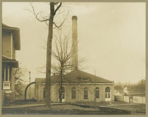 Third IU power plant from 1901-1929.