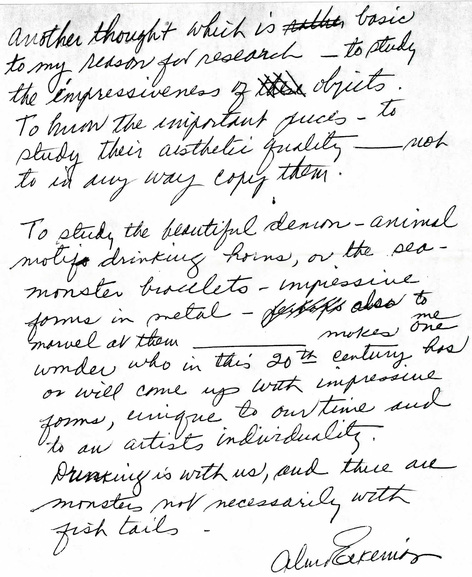 Alma Eikerman to Sara Bodine, 2 April, 1984. Alma Eikerman papers, C621, Indiana University Archives, Bloomington