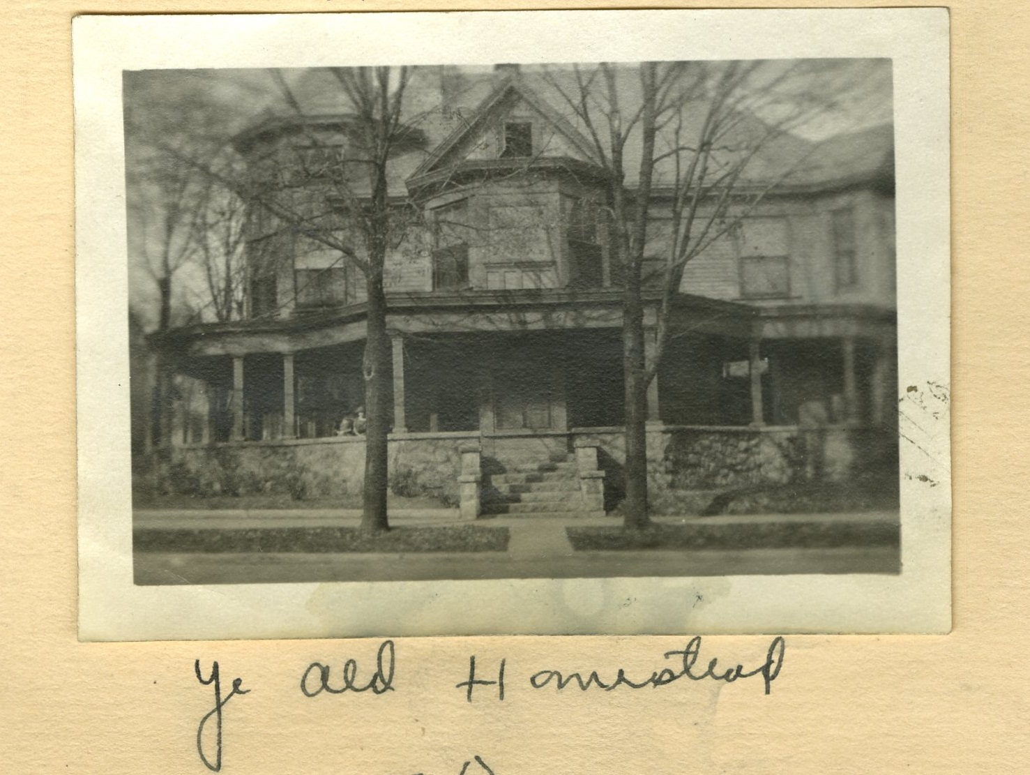 The Kirkwood House, ca. 1920s, from Geraldine s scrapbook b56e6a43eac3