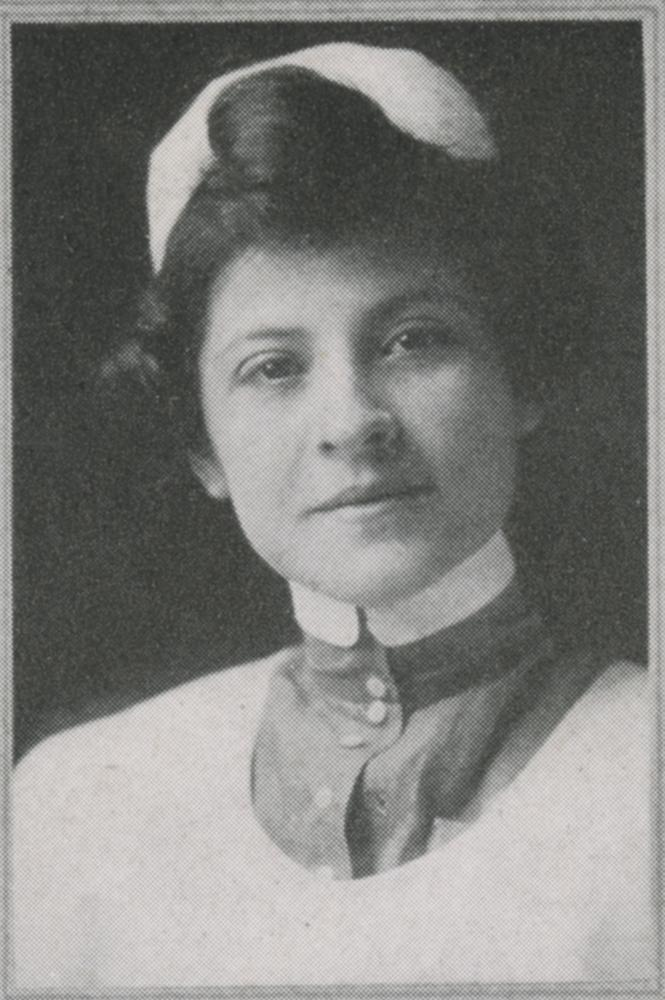 Photograph of Josephine Grima in nurse's uniform