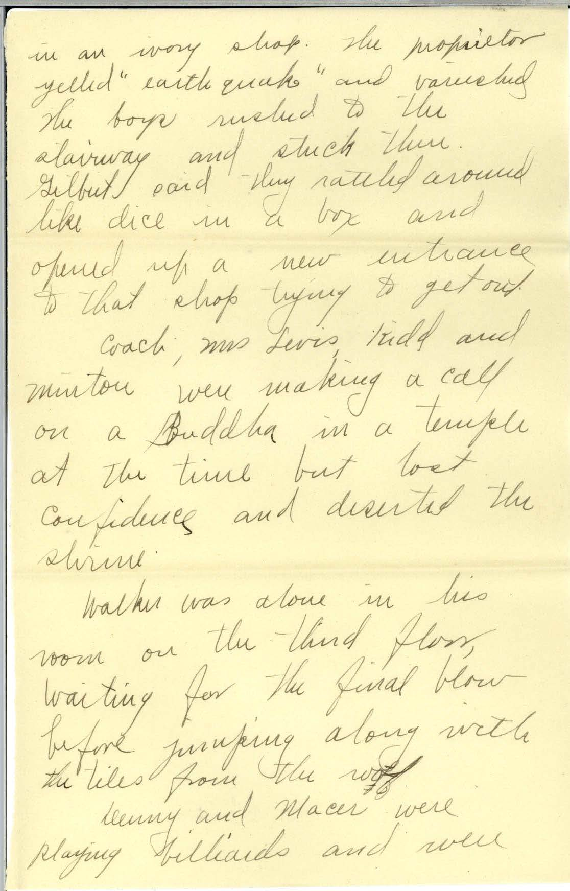 Scan of page 2 of Edna Hatfield's April 30, 1922 letter to Frank R. Elliot - written in cursive handwriting.