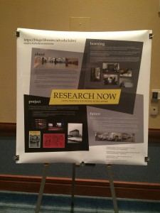 The poster we presented at DLF 2014.