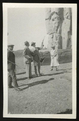 Masaryk in Egypt