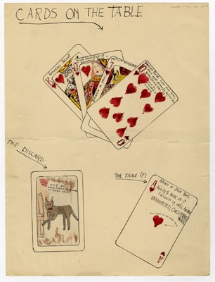Cards on the table by Emmett Gowen