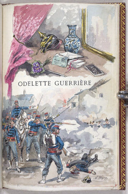 Odelette Guerriere, title page