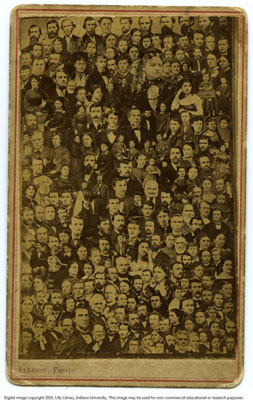 1860 Photo of Everyone in Town