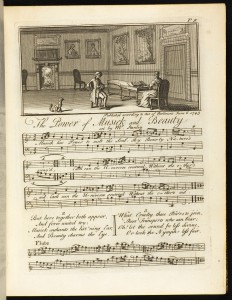 Plate 9 The Power of Musick and Beauty.