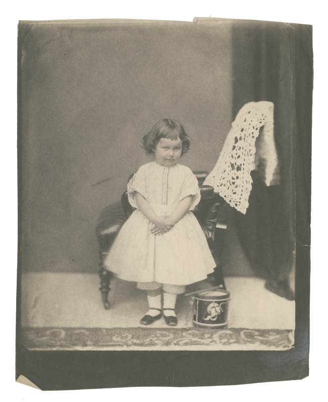 Photograph of Isabel Giberne, age 5.
