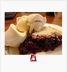 Picture of pie from Wikipedia 'pie' entry showing WAVE icon for missing alt attribute.