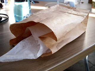 Image of brown lunch bag
