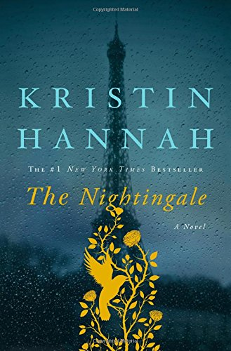 Cover for Nightingale with Eiffel Tower in background on rainy day.