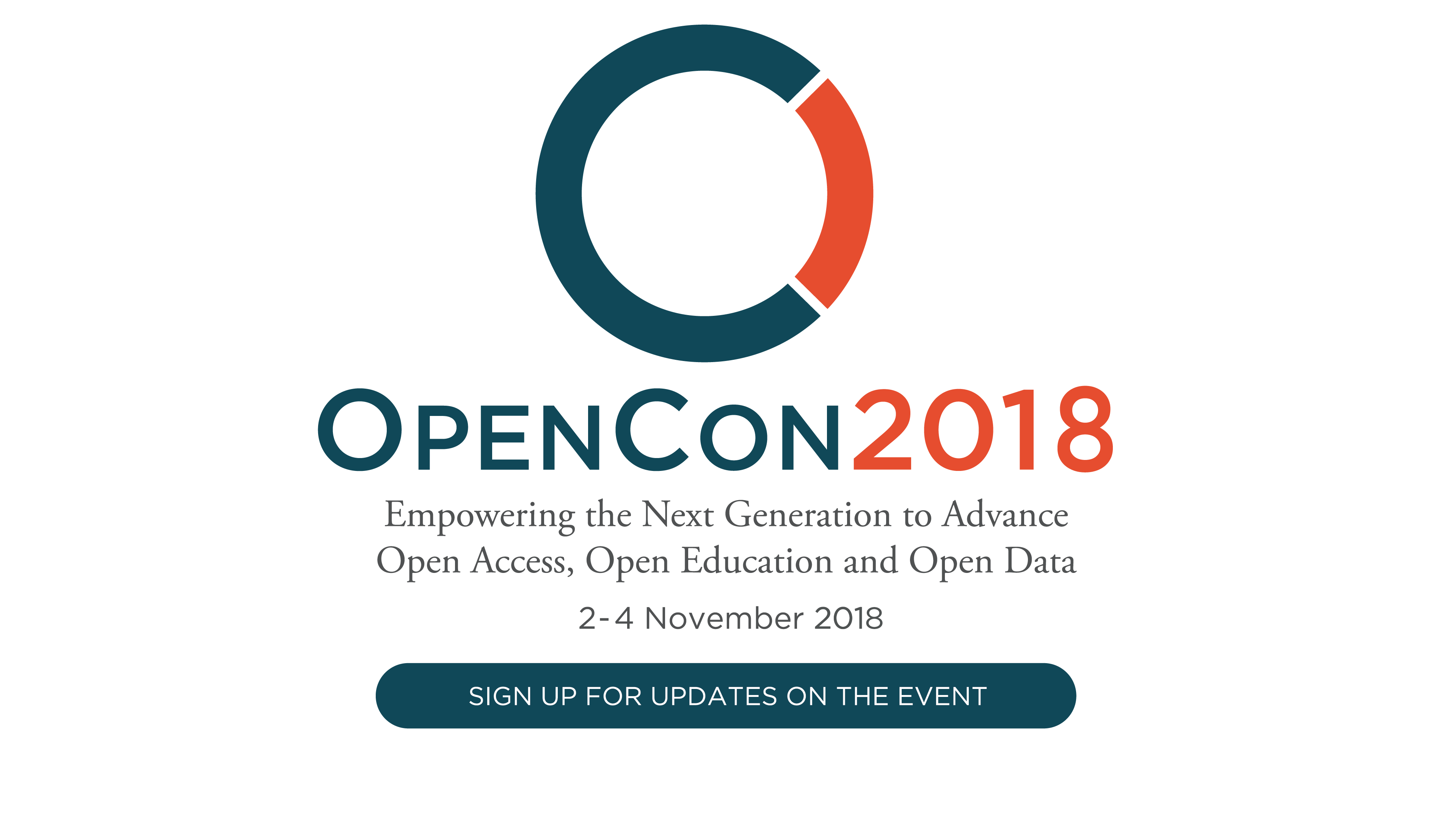 Logo Text: Empowering the Next Generation to Advance Open Access, Open Education, and Open Data