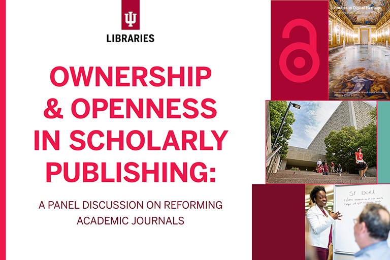 flier for ownership and openness panel